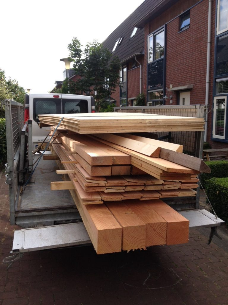 Levering hout